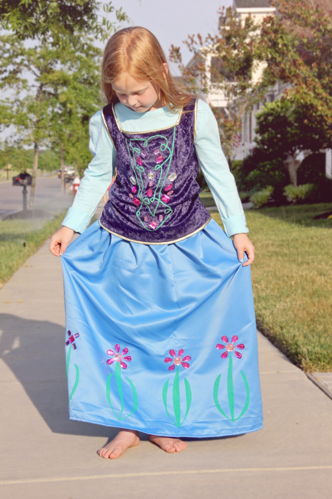 Anna Dress Costume DIY