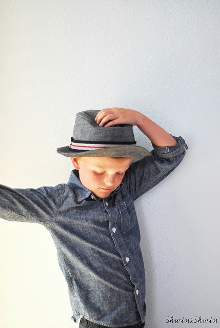 The Fedora Hat, sewn by Shwin & Shwin