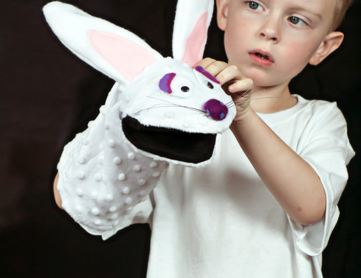 Rabbit Puppet DIY and Pattern