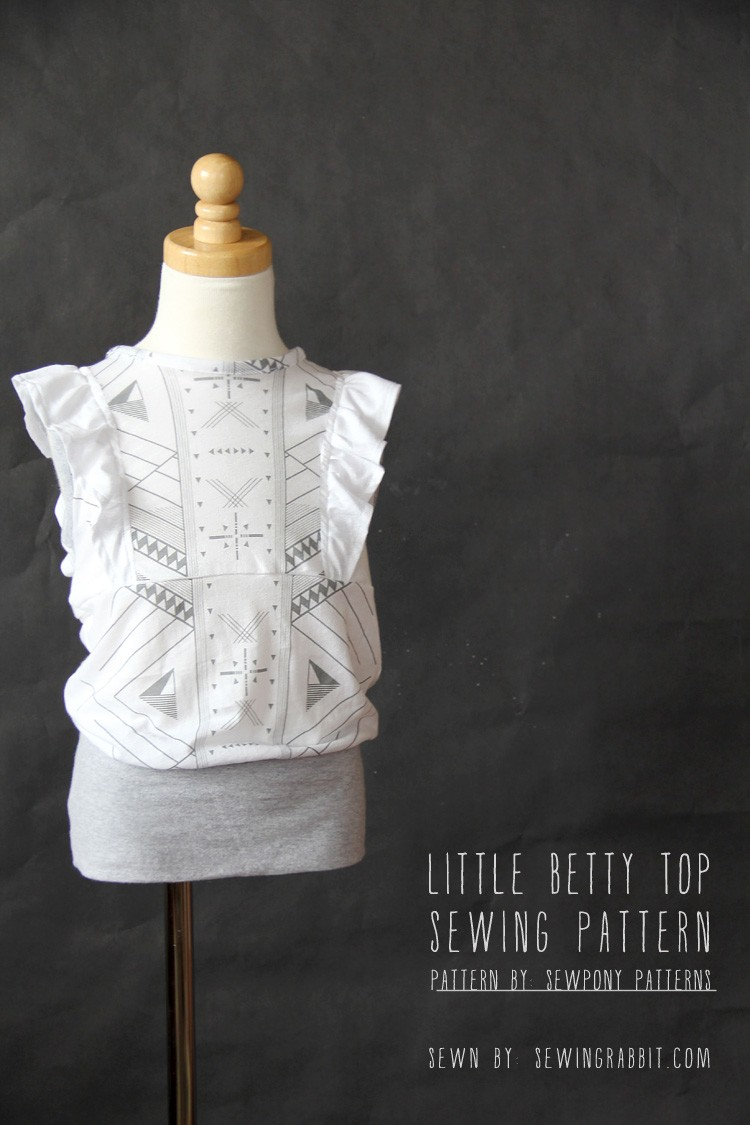 Little Betty Tribal Top Pattern