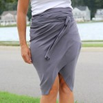 No Sew Wrap Around Tulip Skirt DIY