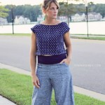 Wide Leg Pants & Crop - Make this Look