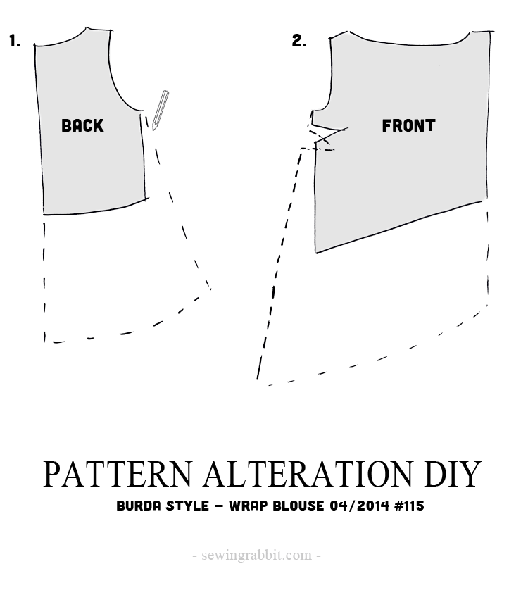 Pattern Alteration DIY