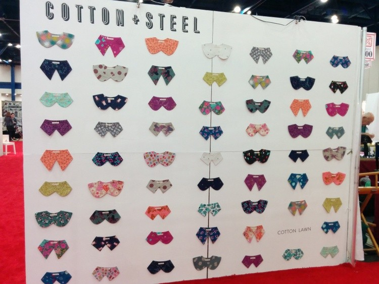 Cotton and Steel Quilt Market 2014