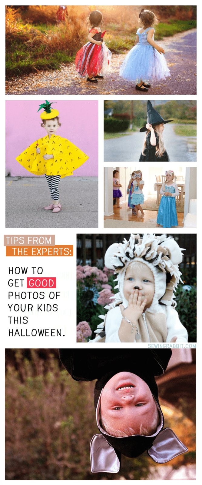 Tips from the Experts - how to get good photos of your kids this Halloween!