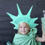 Last Minute Statue of Liberty Costume