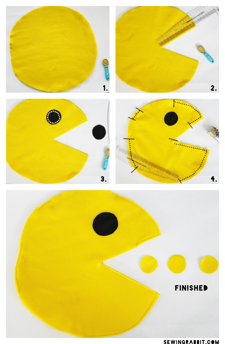 Pac-Man Costume DIY
