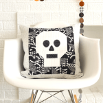 How to make a Quilted Skull Pillow