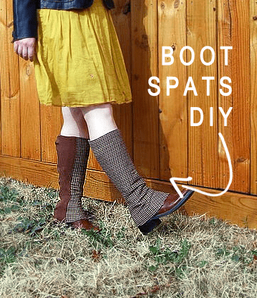 BOOT SPATS DIY