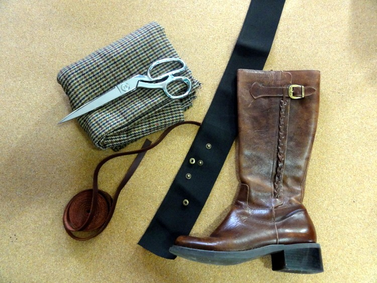 Boot Spats DIY Materials EcoArmoire
