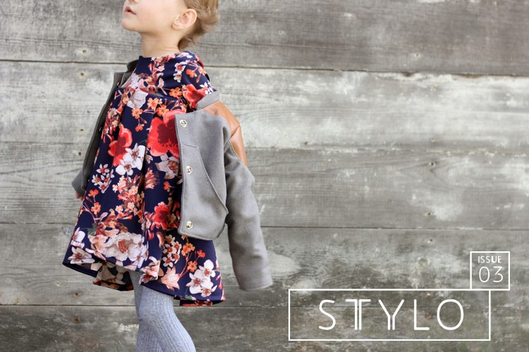 STYLO, Issue 3 - The Golden Issue. Kids Sewing Pattern Magazine