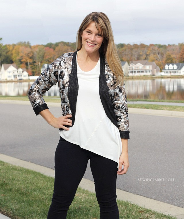 Sequin Julia Cardigan