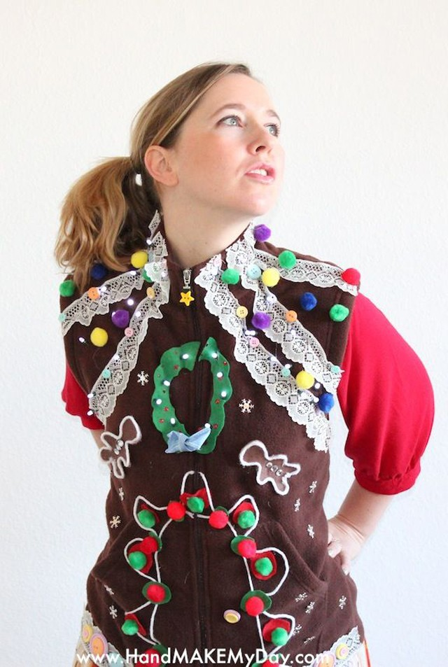 10 Best Ugly Christmas Sweater DIYs - The Sewing Rabbit