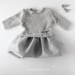 Upcycled Sweater & Tulle Dress DIY