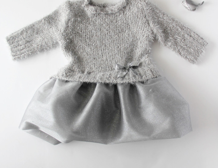 Sweater and Tulle Dress DIY