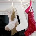 Sequin Stocking, with Free Pattern