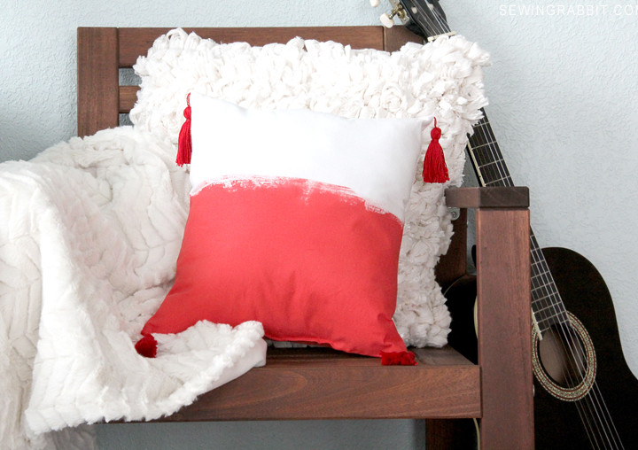 Bohemian Tassel Pillow DIY