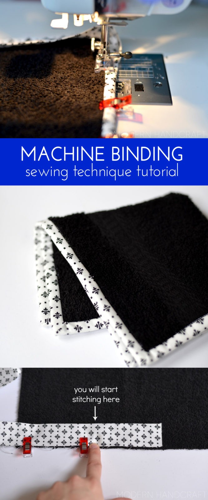 how to get perfect binding on your MACHINE