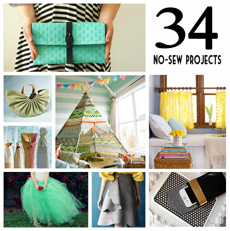 No Sew Project Ideas