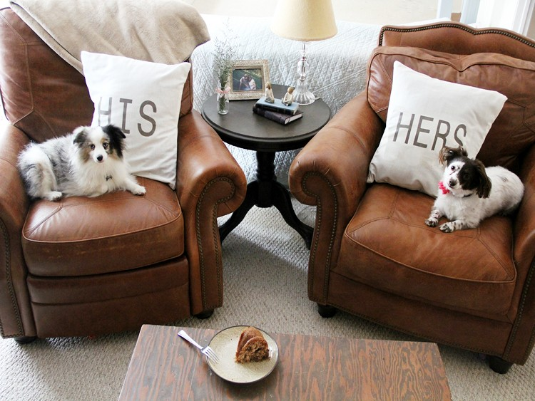 His and Hers Pillows DIY