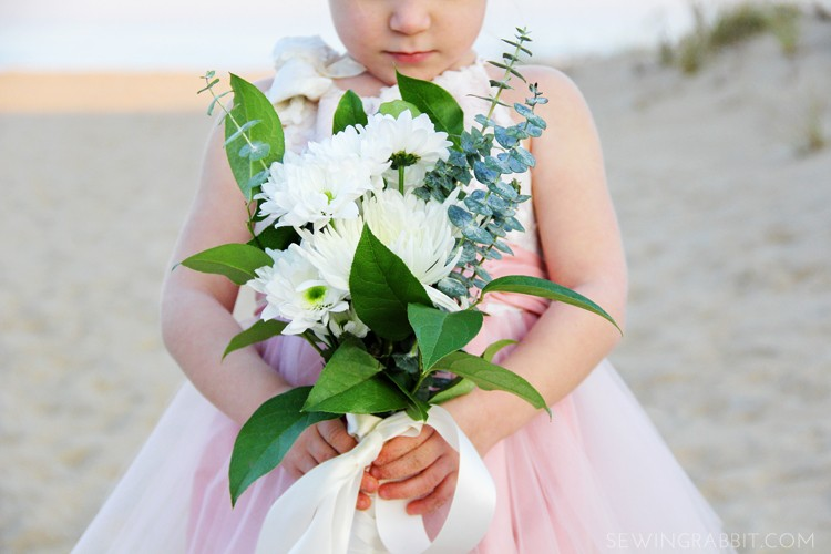 Sew a Sequin Pillowcase Flower Girl Dress - Get the DIY