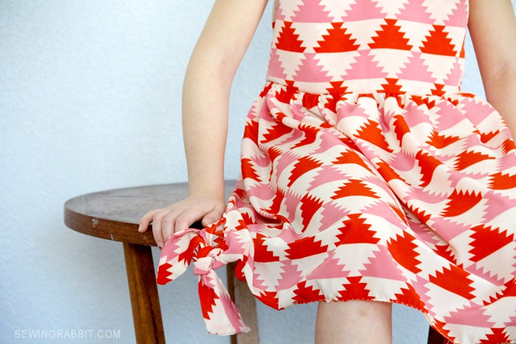 Knot Dress Free Pattern - sizes 2T thru 6T