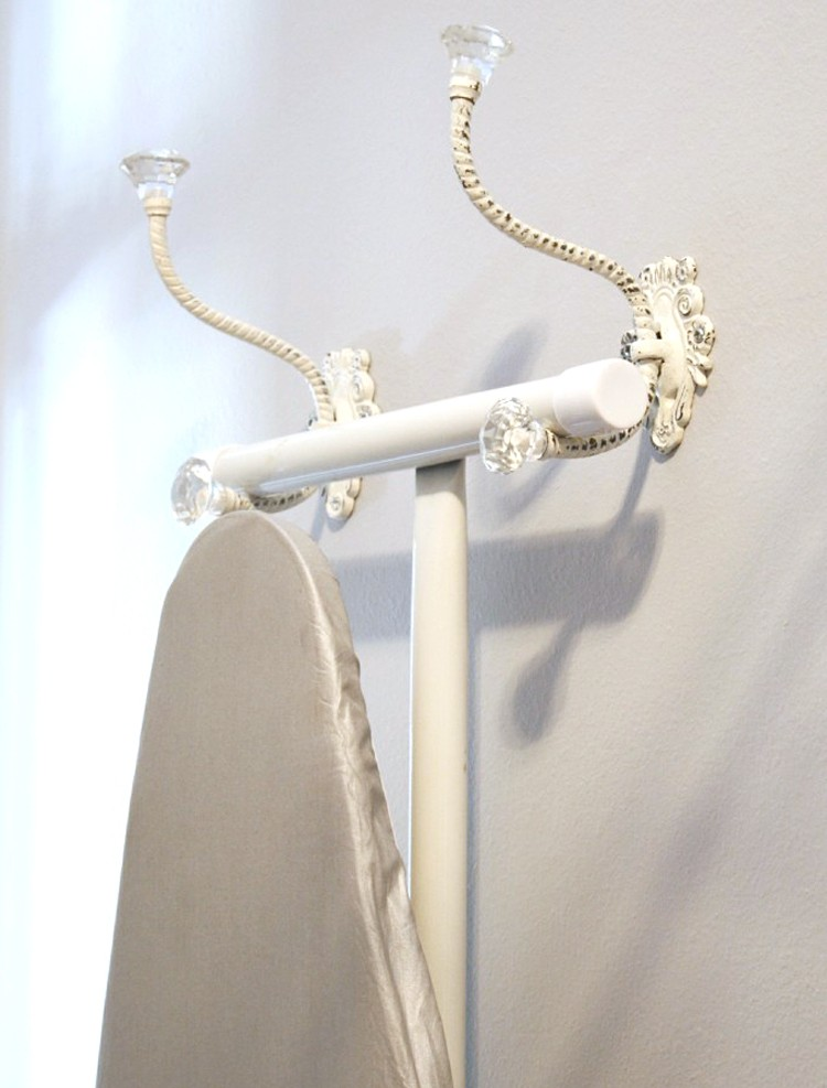 Pretty Hooks for your Ironing Board