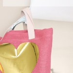 Easter Burlap and Metallic Tote DIY