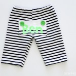 Drop Bottom Baby Pants DIY, with Free Pattern