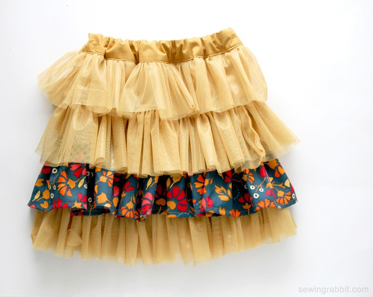 Fabric and Tulle Skirt, 21 things to do with Tulle besides tutus