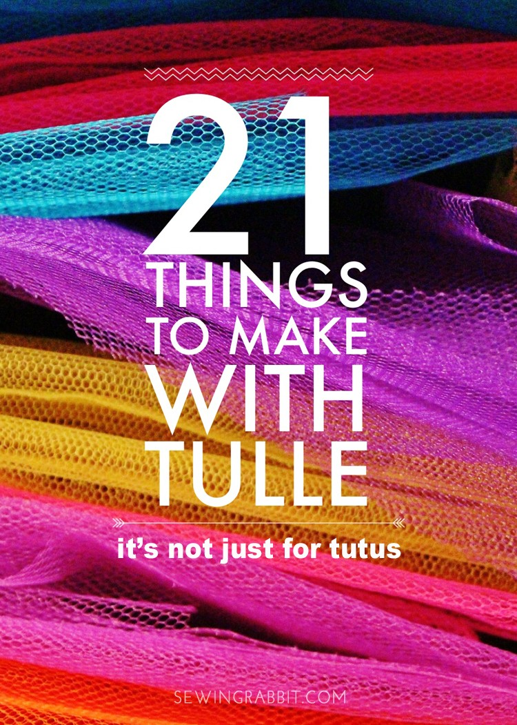 21 things to make with tulle that are not tutus
