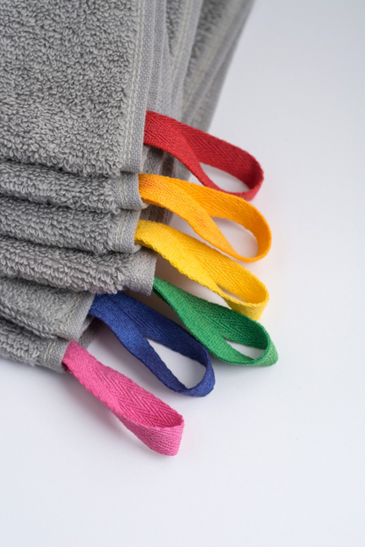 Color Coded Towels
