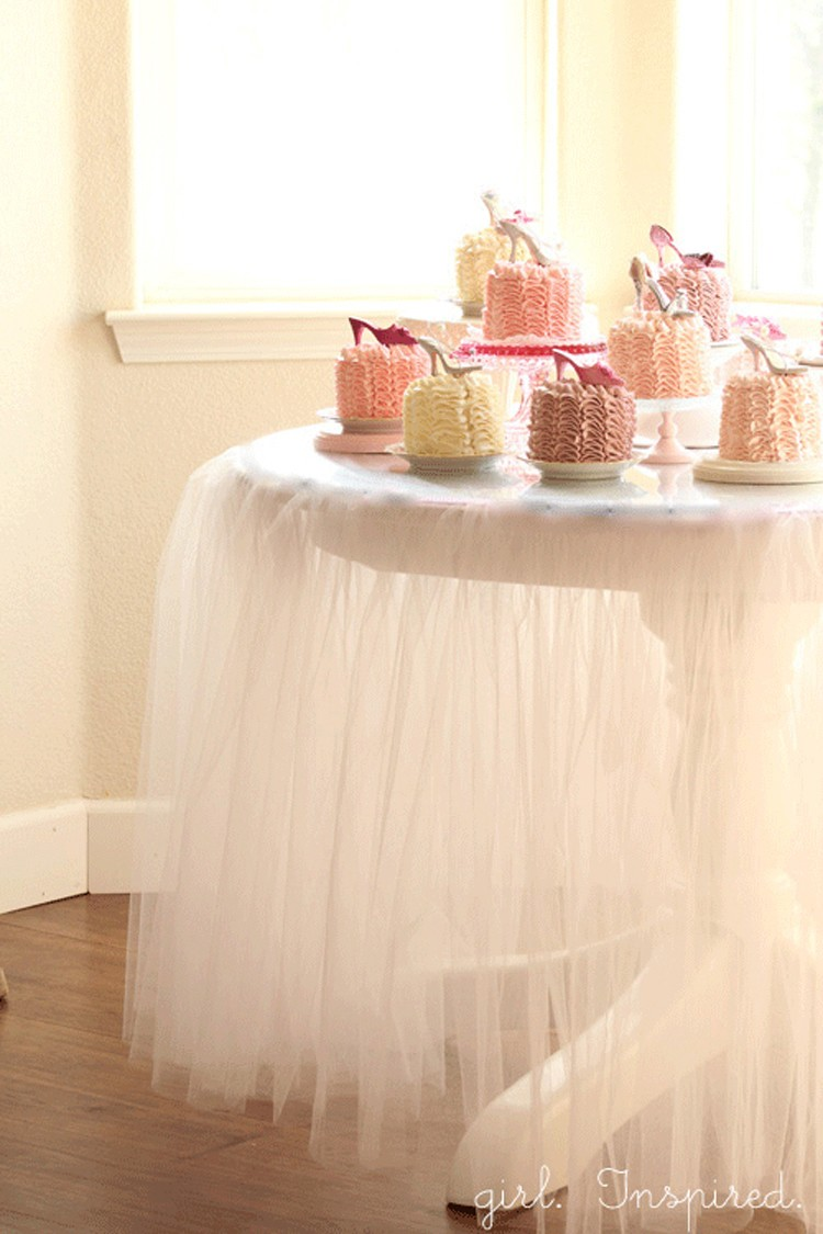 Tulle Table Skirt, 21 things to do with Tulle besides tutus