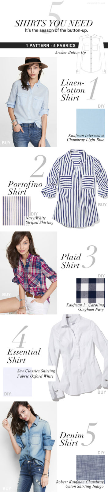 5 Shirts you Need RIGHT Now - Buy VS DIY