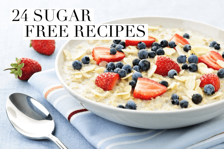 Want to quit sugar and feel great?! Check out these sugar free recipes