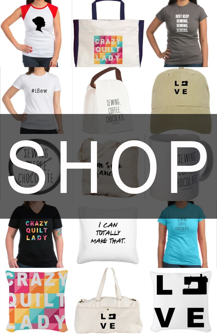 A fun apparel and decor shop for sewing lovers!
