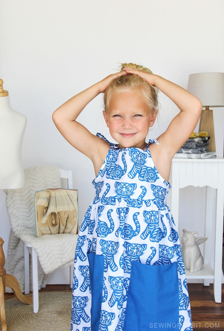 make this look: Vintage Tiger Sundress