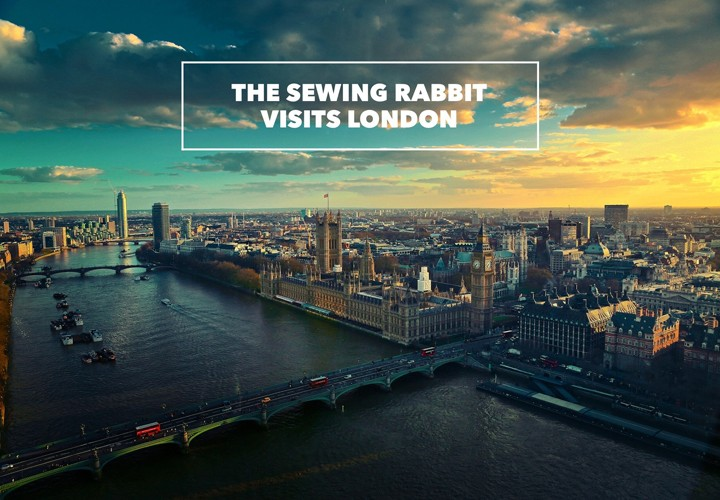 Sewing Rabbit in London