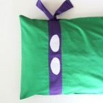 Teenage Mutant Ninja Turtle Pillowcase DIY