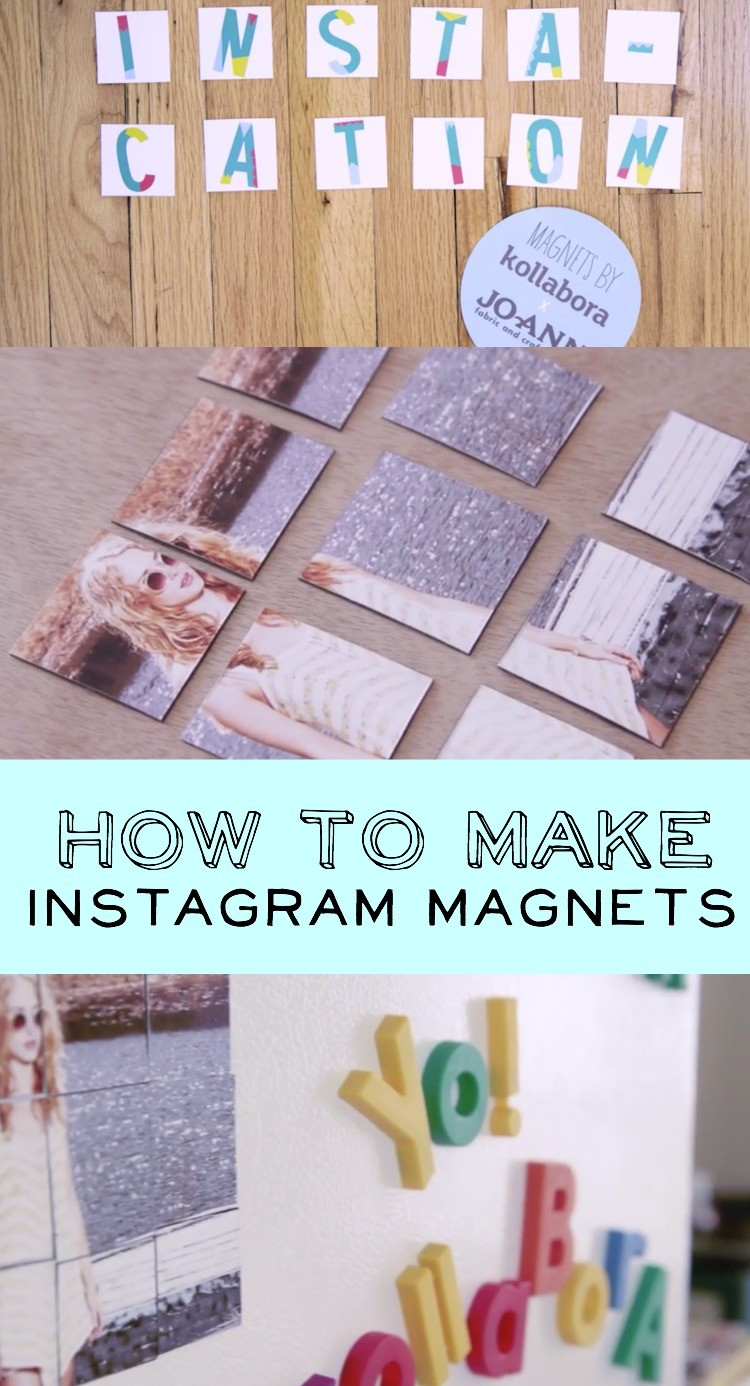 How to make Instagram magnets