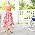 How to make a handkerchief skirt Dress