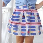 how to make a pleated mini skirt || pleated mini skirt DIY