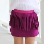 fringe skirt DIY