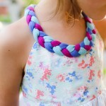 Braided Dress - free girls dress pattern, size 2T thru 6T