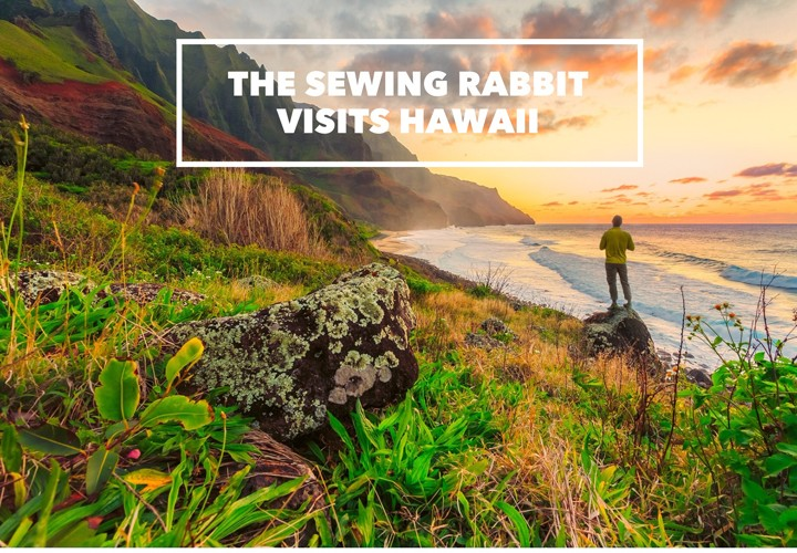 Sewing Rabbit Travels - Hawaii