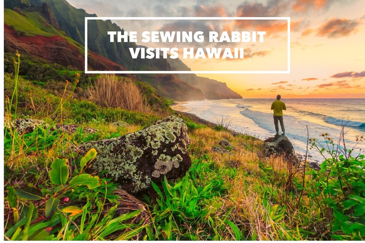 sewing rabbit travels || Hawaii