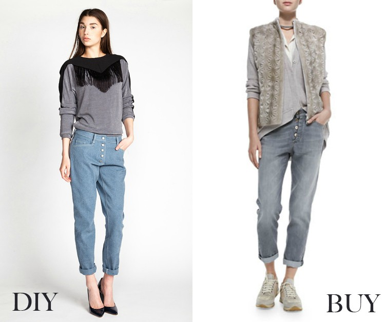Buttonfly jeans - buy vs diy