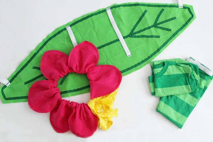 How to make a Flower Costume