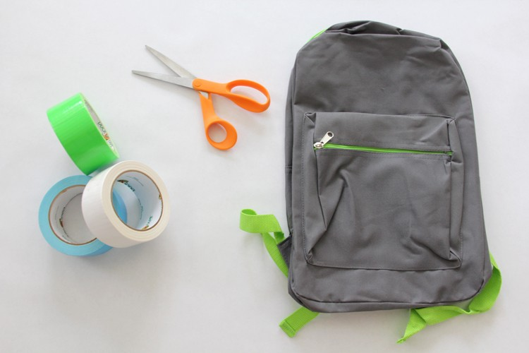 Duck Tape No-Sew Monster Backpack DIY