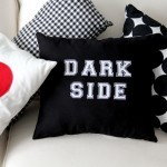 Light Side || Dark Side Reversible Pillow DIY